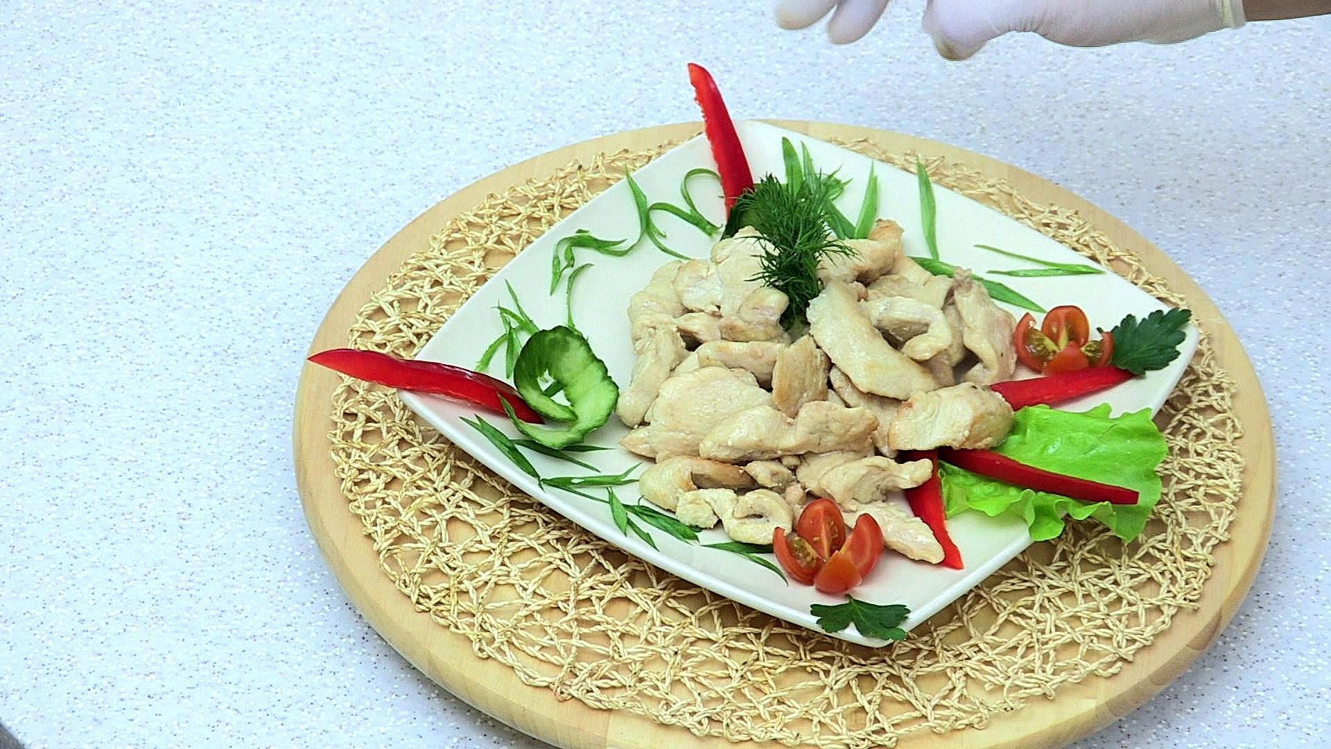 Куриное филе на сковороде как пожарить рецепт с фото