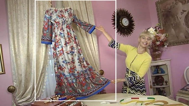 Сшить платье за час видео